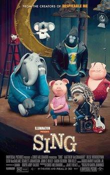 نقد و بررسی انیمیشن Sing (آواز)