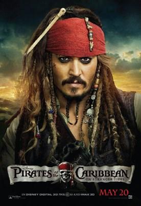نقد فیلم نقد و بررسی فیلم Pirates of the Caribbean: On Stranger Tides ( دزدان دریایی کارائیب : بر روی امواج بیگانه )