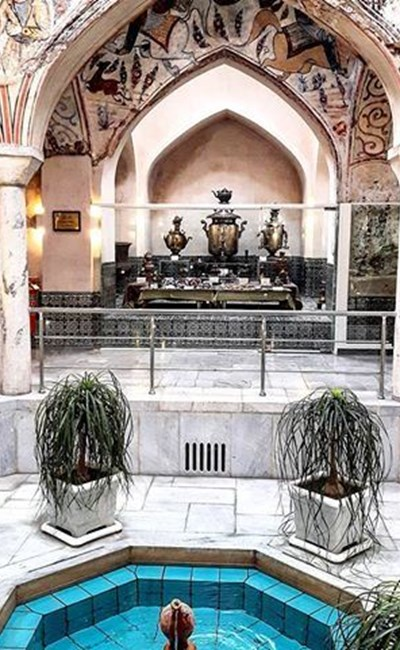 Museum of anthropology of mashhad ( Mahdi qoli beyk bath )