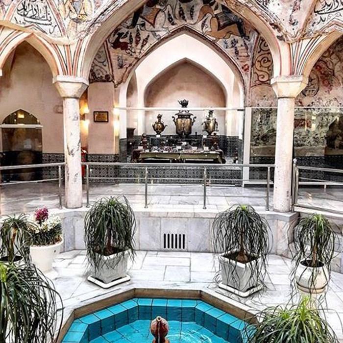 Museum of anthropology of mashhad ( Mahdi qoli beyk bath )