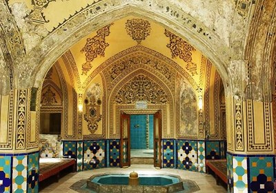 Traditional architecture of Soltan Amir Ahamd Baths