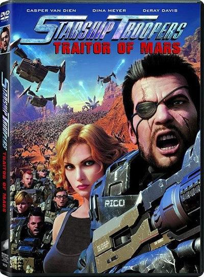 دانلود انیمیشن سربازان سفینهی جنگی : خائن به مریخ