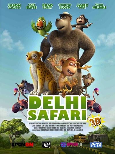 دانلود انیمیشن سفر به دهلی (Delhi Safari)