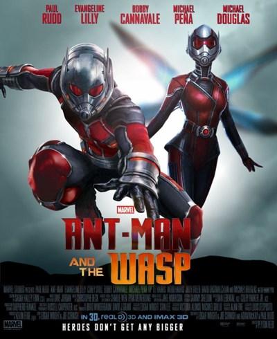 مرد مورچه ای و زنبورک