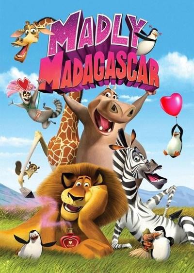 دانلود انیمیشن دیوانه بازی در ماداگاسکار