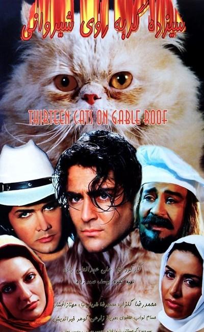 13 گربه روی شیروانی