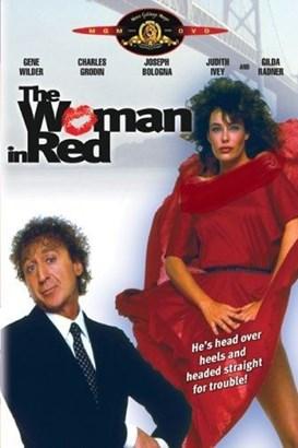 زن سرخ پوش