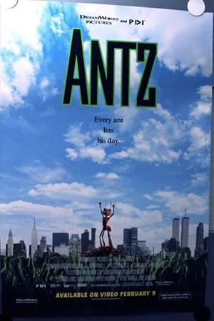 مورچه ای بنام زی (Antz)