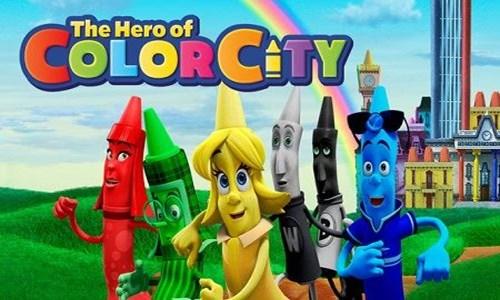 قهرمان شهر رنگی (مداد شمعی ها)